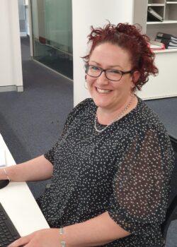 210426 - Erin at desk